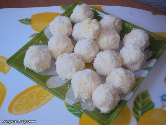 Конфеты с кокосовой стружкой своими руками 54