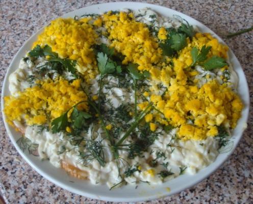 Салат мимоза с крекером рецепты с фото