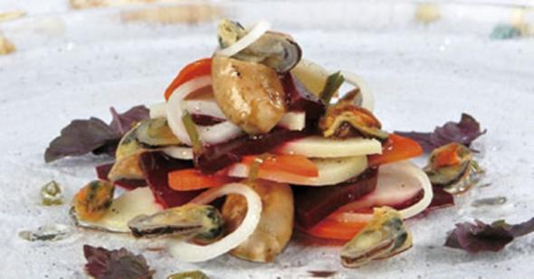 с мидиями рис грибами рецепты