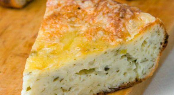 Пирог с луком и сыром рецепт