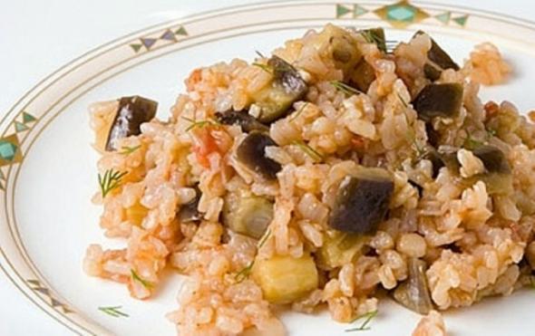 Рецепты из баклажанов и риса