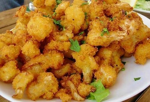 рецепт цветной капусты в сухарях на сковороде