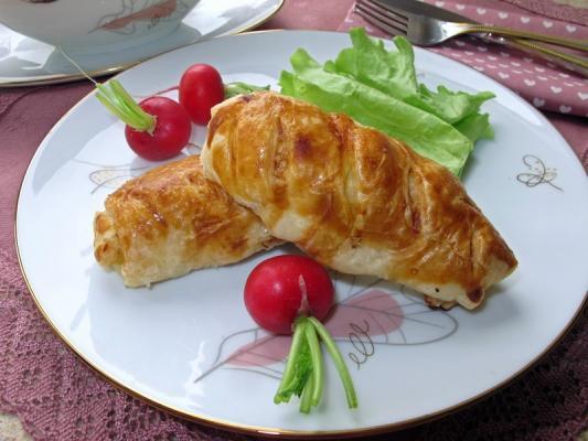 Курица филе в слоеном тесте в духовке рецепт