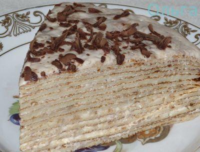 блинные торты рецепты с фото