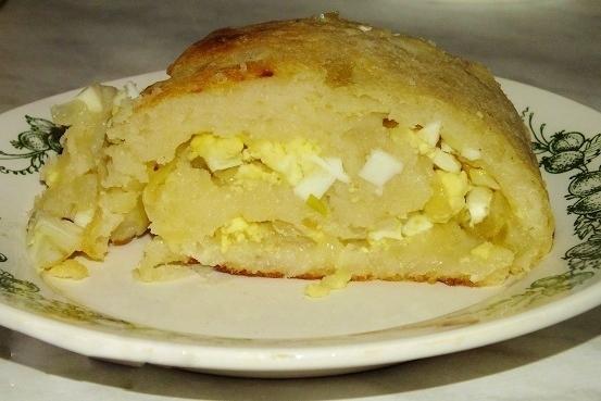 Рулет из картофеля пошагово