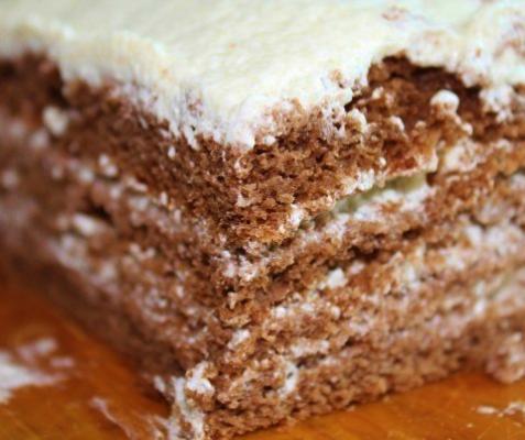 рецепт торта птичье молоко манкой фото