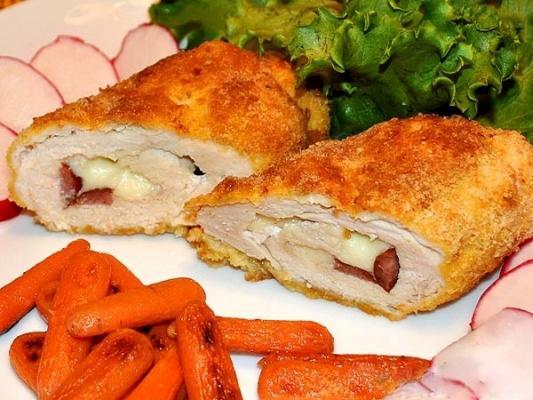 куриный рулет сыром рецепт фото