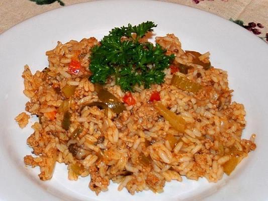 фарш с рисом рецепт с фото пошагово