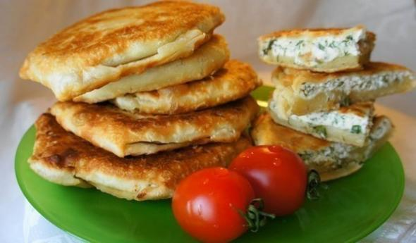 жареные пирожки с творогом соленые рецепт