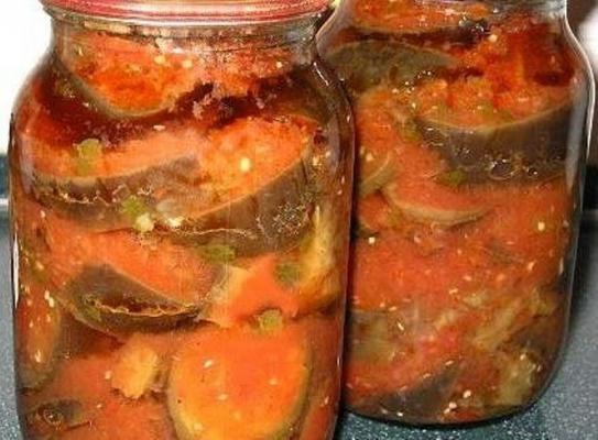 Рецепты баклажаны в аджике