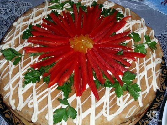 Печеночный торт фото рецепты тортов