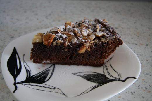 пирог с шоколадкой внутри рецепт с фото