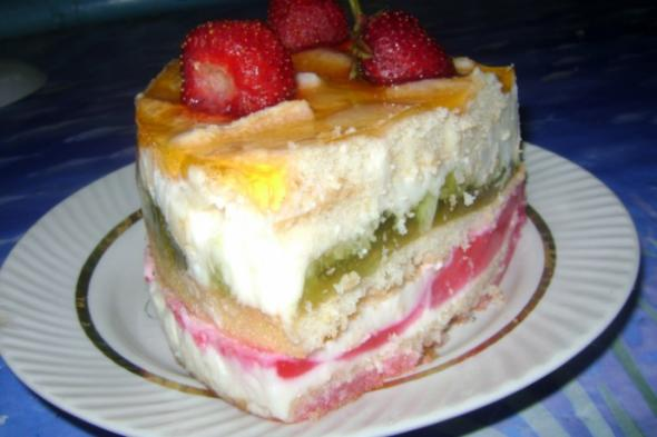 торты без выпечки фото рецепти